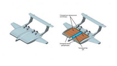В России разрабатывается концепция тяжелого транспортного экраноплана на СПГ