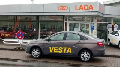 Стартовали продажи LADA Vesta в Германии