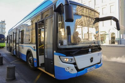 Электробус производства «Группы ГАЗ» вышел на маршрут в Москве