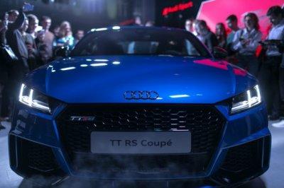 Новый Audi TT RS стартует на российском рынке