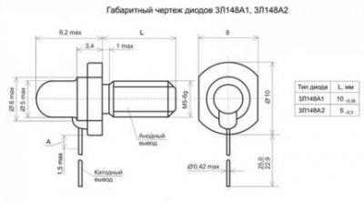 В России начато производство мощных диодов на основе арсенида галлия – арсенида алюминия
