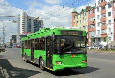 Новые российские троллейбусы поставлены в столицу Киргизии