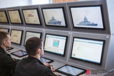 Кингисеппский машиностроительный завод создал новый тренажер по эксплуатации электроэнергетических систем (БЧ-5) фрегата проекта 22350