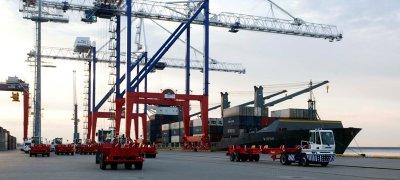 Введены в эксплуатацию объекты порта Бронка в Санкт-Петербурге