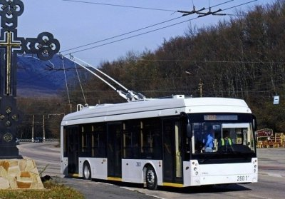 Крым закупил специально разработанные для горной местности троллейбусы «Тролза»
