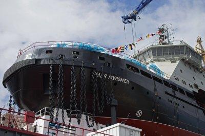 Новый ледокол «Илья Муромец» передадут ВМФ в этом году
