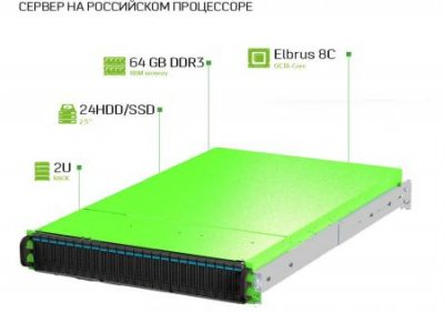 Российский производитель серверов готовит 3 новые модели на 8-ядерных Эльбрусах