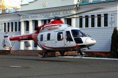 Новые российские медицинские вертолеты Ансат идут в серию