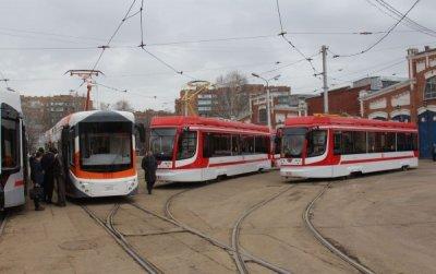 В Самаре начали курсировать новые трехсекционные трамваи Усть-Катавского вагоностроительного завода