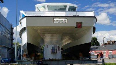 В России появилось первое пассажирское судно из композитных материалов