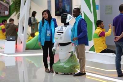 40 серийных российских роботов Промобот v.3 отправляются в США
