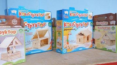 В Сергиевом Посаде начали выпускать развивающие игрушки в стиле русского деревянного зодчества