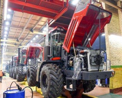 К-424 - новый российский трактор из Санкт-Петербурга