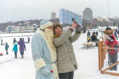 Чебоксарцы определи лучшие места для новогодних сторис и фото