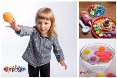 Кинетический пластилин Зефир – передовой российский продукт для детского творчества