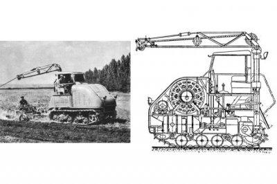 Техноистория: Советские электрические тракторы
