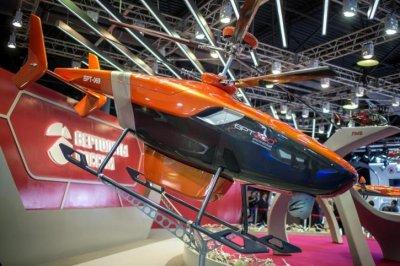 Российский дизельный беспилотник VRT-300 начнет полеты в конце 2018 года