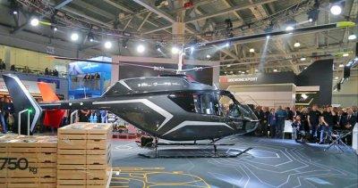 Представлен новый российский легкий вертолет VRT500