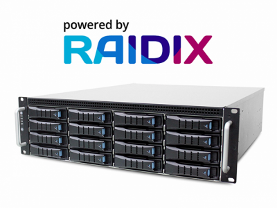 Показана новая российская система хранения данных Raidix RAIN Эльбрус