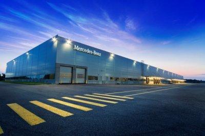 Открылся завод Mercedes-Benz в индустриальном парке «Есипово» в Московской области