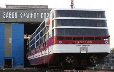 Как выглядит первый российский круизный лайнер проекта PV300