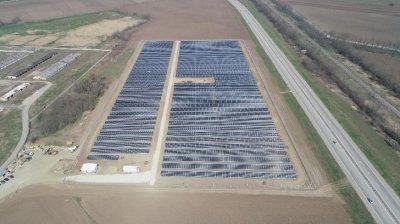 Компания «Хевел» построила в Адыгее первую солнечную электростанцию