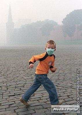 В московском воздухе превышено содержание угарного газа