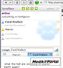 SamePlace 0.9.2 - Jabber в Firefox/Flock/Thunderbird