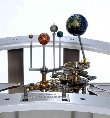 Planetarium Tellurium - механическая модель мира